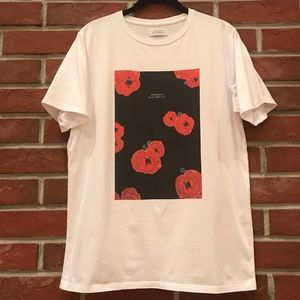 SATURDAYS NYC FLOATER FILL T-SHIRT RARE SIZE M